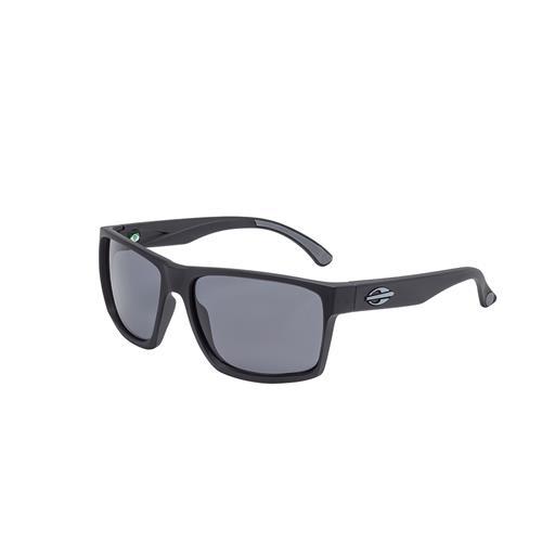 4e54cbd80 Óculos De Sol Infantil Carmel Nxt Preto Fosco Lente Básica Cinza Mormaii