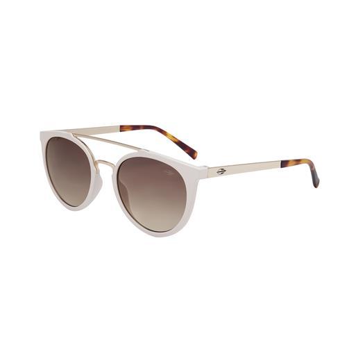 df2562c0a Óculos De Sol Los Angeles Branco Lente Degradê Marrom Mormaii na ...