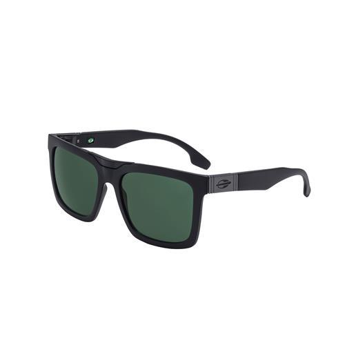 b02f48766 Óculos De Sol Long Beach Preto Fosco Lente Espelhada Verde Mormaii ...
