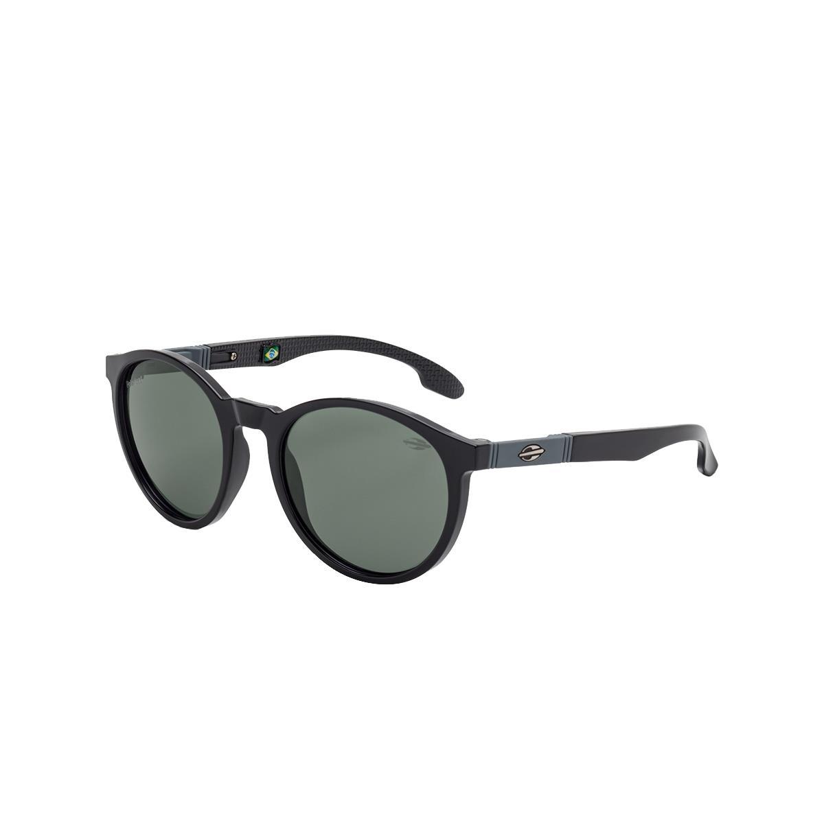 6f8293248701a Óculos De Sol Infantil Mormaii Maui Nxt M0072A0201 Preto Lente Cinza na  Estrela10