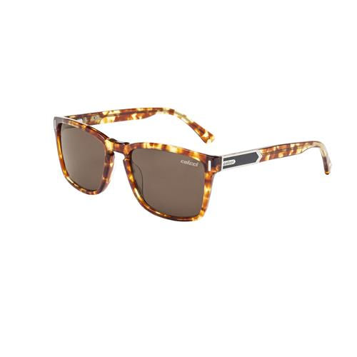 Óculos De Sol Demi Amarelo Brilho Lente Marrom C0112f4102 Colcci