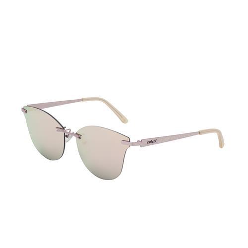 Óculos De Sol Rosa Acetinado Lente Rose Gold C011558346 Colcci