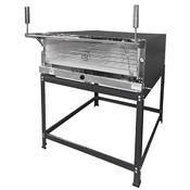 Forno De Pizza Industrial MR Fogões 95x95cm Inox