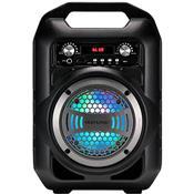 Caixa De Som Portátil Multilaser Sp256 4Pol 40W Bluetooth P2 Usb