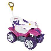 Andador Com Empurrador Biemme Dudu Car Style Rosa