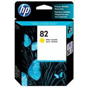 Cartucho De Tinta HP 82 C4913AB Plotter 69 ML Amarelo