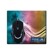 Mouse Gamer E Mouse Pad Sumay Mg1305 Com Fio 3200 Dpi Preto