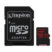 Cartão De Memória Micro Sd Kingston Sdcr/64Gb Canvas React Classe 10 64Gb