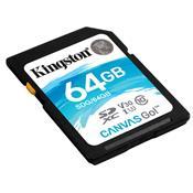 Cartão De Memória Sd Kingston Sdg/64Gb Canvas Go Classe 10 64Gb