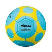 Bola Para Futebol De Areia Mikasa Bc450 Azul E Amarelo