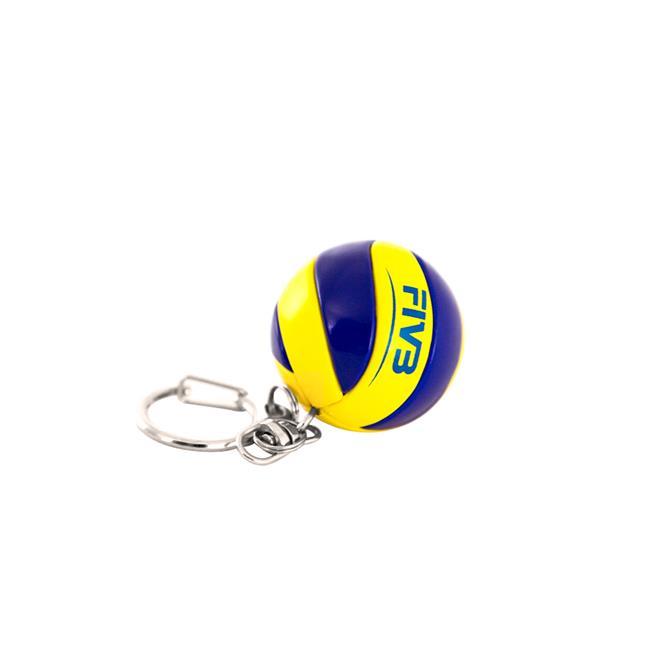 4dc34449885d1 Chaveiro Bola De Voleibol Mikasa Kva Azul E Amarelo na Estrela10