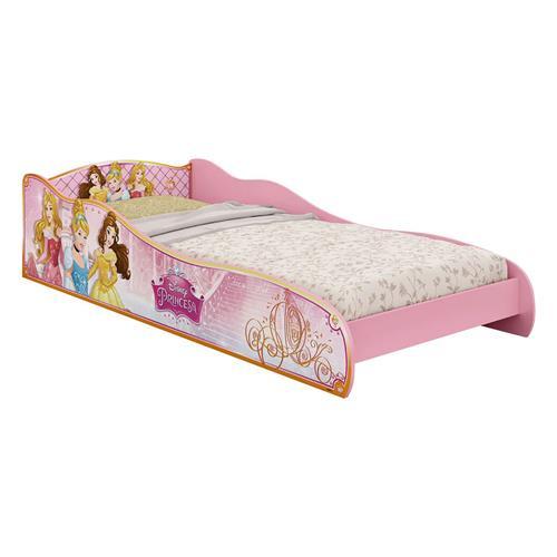 2a98d08d57 Mini Cama Infantil Pura Magia Princesas Disney Mdf Rosa na Estrela10