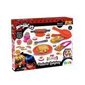 Kit De Massinha Miraculous Fun Ladybug Padaria
