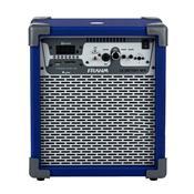 Caixa De Som Amplificada Frahm Multiuso 60W Rms Bluetooth Azul