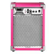 Caixa De Som Amplificada Frahm Multiuso Lc 350 App 80W Rms Pink