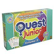Jogo De Tabuleiro Grow Quest Júnior Volume 2