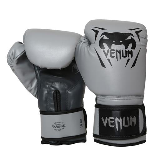 f21a4dcadb Luvas De Boxe E Muay Thai Venum New Contender Cinza 16 Oz na Estrela10