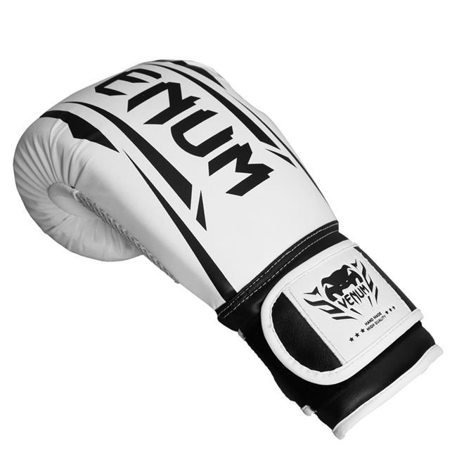 9f03fe9a6 Luvas De Boxe E Muay Thai Venum New Elite Branca na Estrela10