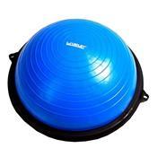 Meia Bola De Equilíbrio Bosu Liveup Sports Ls3610 Azul