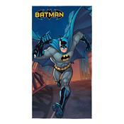 Toalha De Banho Aveludada Infantil Lepper Batman Transfer Azul