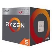Processador AMD Ryzen 5 YD2400C5FBBOX 2400G AM4 4MB Cache 3.6 GHz