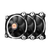 Kit 3 Coolers Fan Thermaltake Cl-F055-Pl12wt-A Tt Riing 120Mm Led Branco