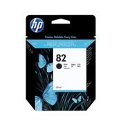 Cartucho De Tinta Plotter Hp 82 Preto 69Ml