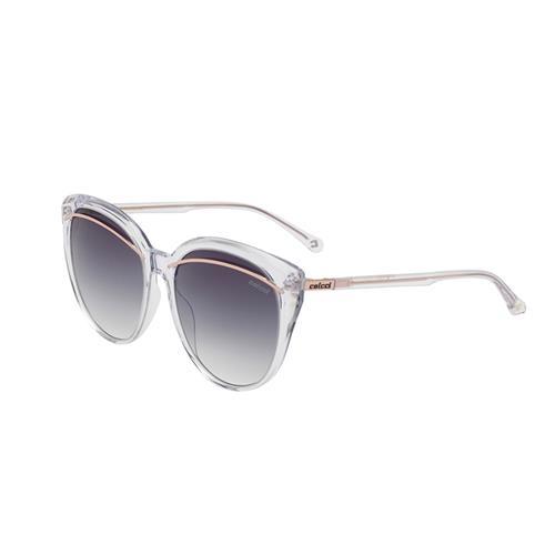 3afcbf8361291 Óculos De Sol Colcci C0128 Rose Gold Lente Marrom Degradê na Estrela10