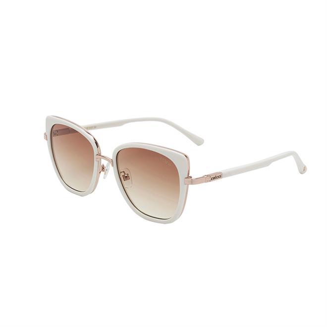 d651bea49 Óculos De Sol Colcci C0129 Creme Lente Marrom Degradê na Estrela10