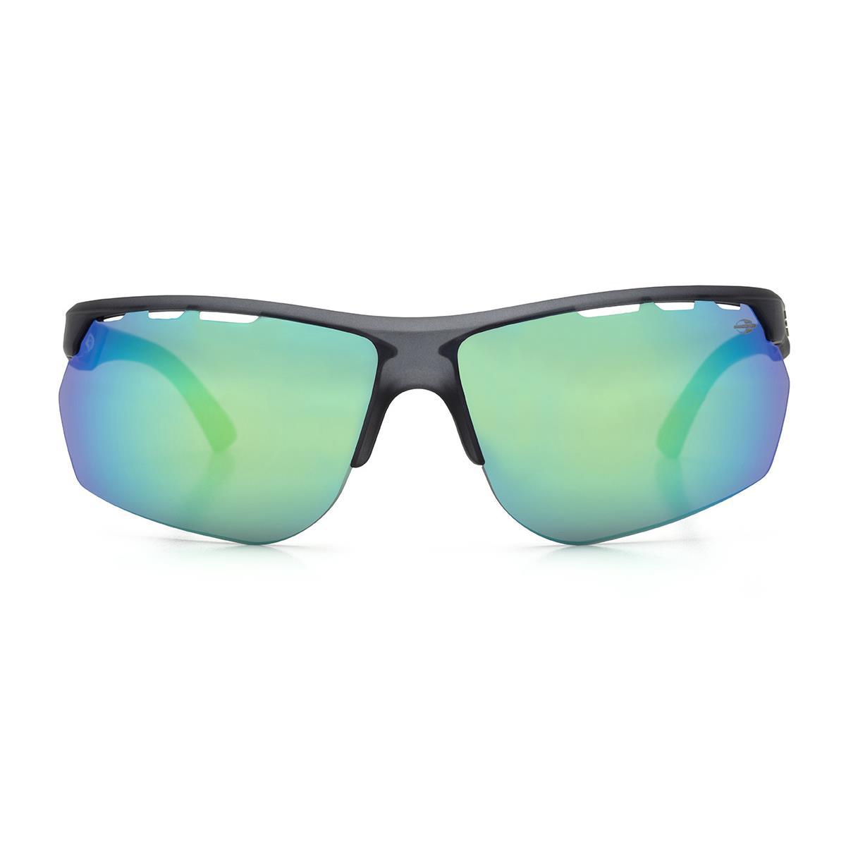 1b935571a5bed Óculos De Sol Mormaii M0078d5985 Thunder Fumê Fosco Cinza Lente Verde na  Estrela10