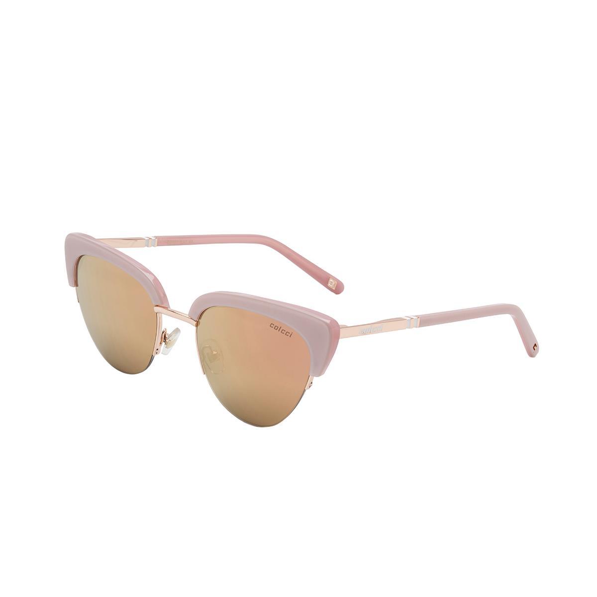04bb2e0a3 Óculos De Sol Colcci C0101 Dourado Rose Lente Marrom Revo Rose Gold na  Estrela10