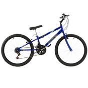 Bicicleta Rebaixada Ultra Bikes Aro 24 18 Marchas Azul