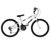 Bicicleta Rebaixada Ultra Bikes Aro 24 18 Marchas Branca