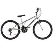 Bicicleta Ultra Bikes Chrome Line Rebaixada Aro 24 18 Marchas Cromada