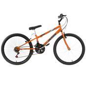 Bicicleta Rebaixada Ultra Bikes Aro 24 18 Marchas Laranja