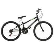 Bicicleta Rebaixada Ultra Bikes Aro 24 18 Marchas Preta