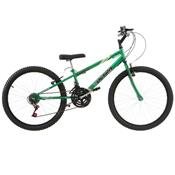 Bicicleta Rebaixada Ultra Bikes Aro 24 18 Marchas Verde