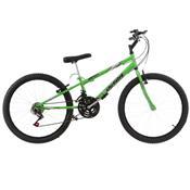Bicicleta Rebaixada Ultra Bikes Aro 24 18 Marchas Verde Kw