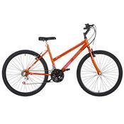 Bicicleta Feminina Ultra Bikes Chrome Line Aro 26 18 Marchas Laranja
