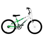Bicicleta Rebaixada Ultra Bikes Bicolor Aro 20 Verde Kw E Branca