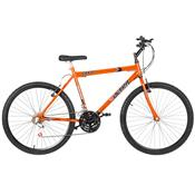 Bicicleta Ultra Bikes Chrome Line Aro 26 18 Marchas Laranja