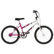 Bicicleta Feminina Ultra Bikes Bicolor Aro 20 Rosa E Branca