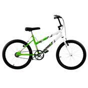 Bicicleta Ultra Bikes Bicolor Aro 20 Verde Kw E Branca