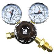 Regulador De Pressão V8  Brasil Para Cilindro Acetileno Preto