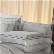 Fronha Avulsa Plumasul Premium Harmonious 50X150cm Branca/Cinza
