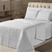 Edredom Solteiro Plumasul Summer Soft Touch 160X220cm Branco