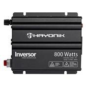 Inversor Onda Modificada Hayonik 800W 12Vdc/127V Cinza Escuro