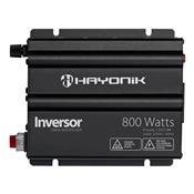 Inversor Onda Modificada Hayonik 800W 12Vdc/220V Cinza Escuro