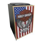 Cajon Eletroacústico Jaguar K2 COR-005 EQ Harley Davidson Inclinado