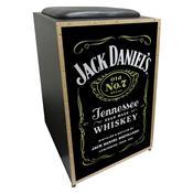 Cajon Acústico Jaguar K2 COR-008 Jack Daniels Inclinado